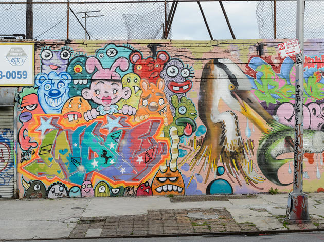 Top ten spots to see street art