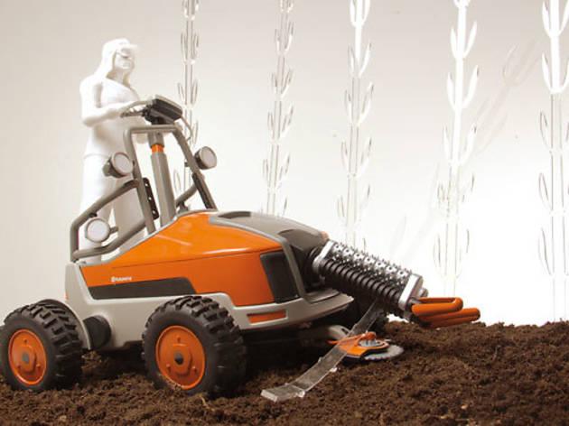 Nueva máquina para la cosecha de caña, de Francisco Lindoro