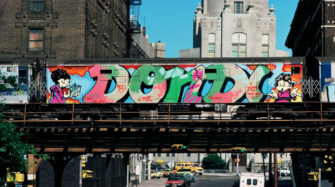 Graffiti art: A brief history