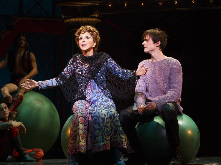 """Andrea Martin sings """"No Time at All"""" in Pippin"""