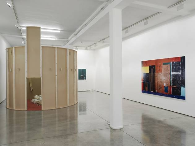 Anne Hardy, Exhibition view at Maureen Paley. 2013