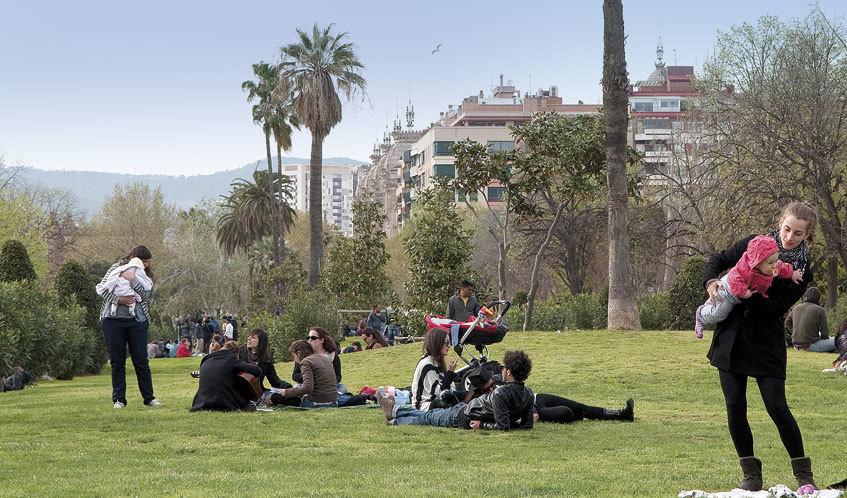 Sortim de pícnic per la ciutat