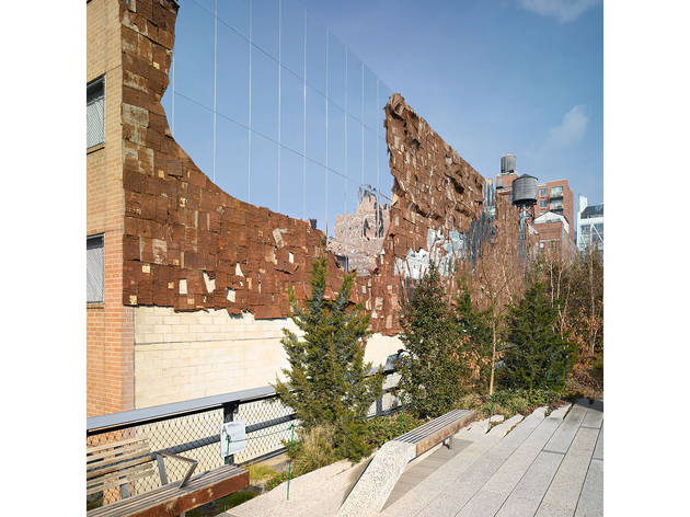 El Anatsui, Broken Bridge II, 2012