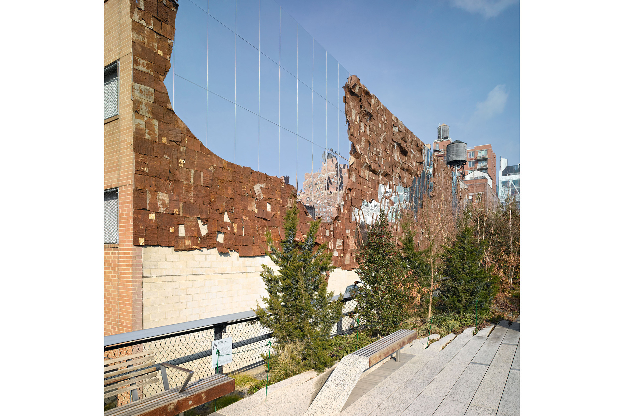 Photograph: Austin Kennedy/Paper Scenery; courtesy the artist, Jack Shainman Gallery and Friends of the High Line