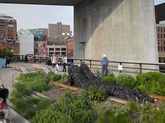 Section two of the High Line is open!