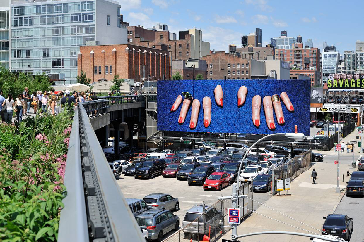 Public art on the High Line