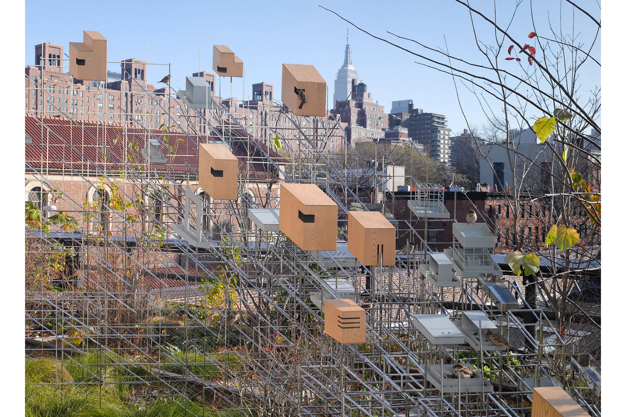 Public art on the High Line