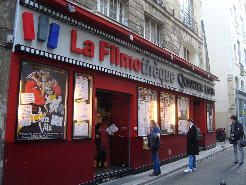 La Filmoth 232 Que Du Quartier Latin Cinemas In Quartier