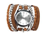 Sara Designs wrap watch, $185, at LIC: Living, 5-35 51st Ave between Vernon Blvd and 5th St, Long Island City, Queens (718-361-5650, licliving.com)