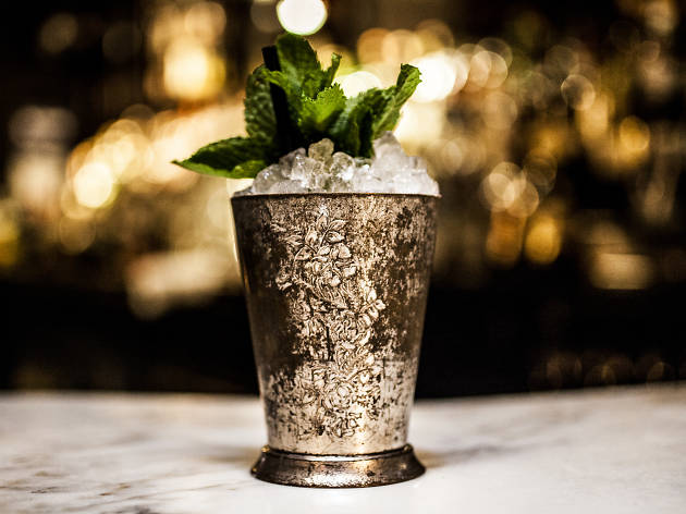 Mint Julep at Death and Co.