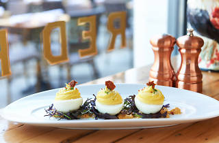 Deviled Eggs at The Red Rooster