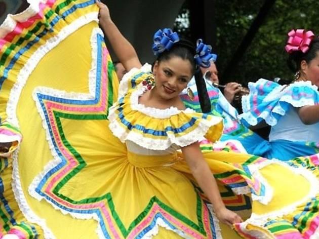 Cinco de Mayo on Olvera Street