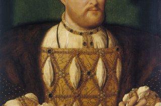'Henry VIII', c1530-35  (by Joos van Cleeve)