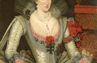 'Anne of Denmark', 1614  (Attributed to Marcus Gheeradts the Younger)