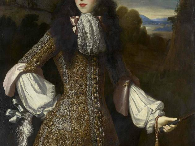 'Mary of Modena', c1675 (by Simon Verelst)