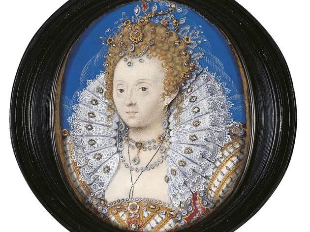 'Elizabeth I', c1595-1600  (by Nicholas Hilliard)