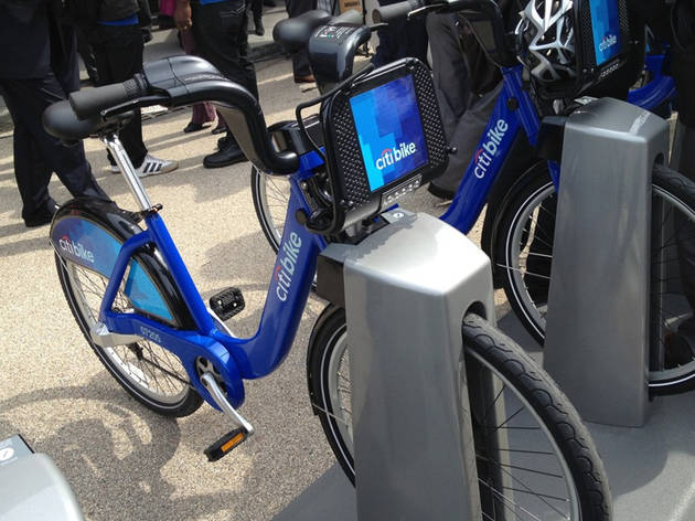 Citi Bike launches