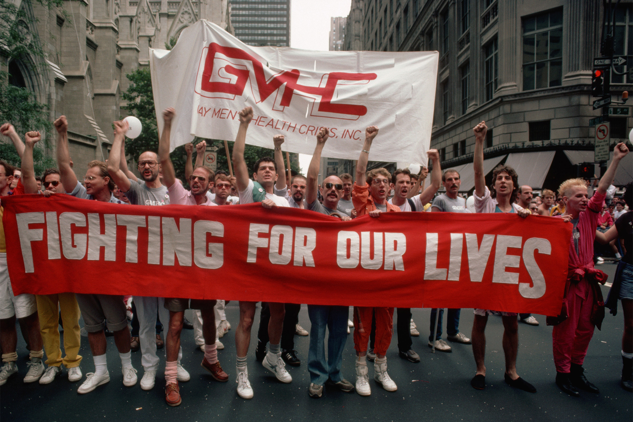 "See ""AIDS in New York: The First Five Years"" at N-YHS"