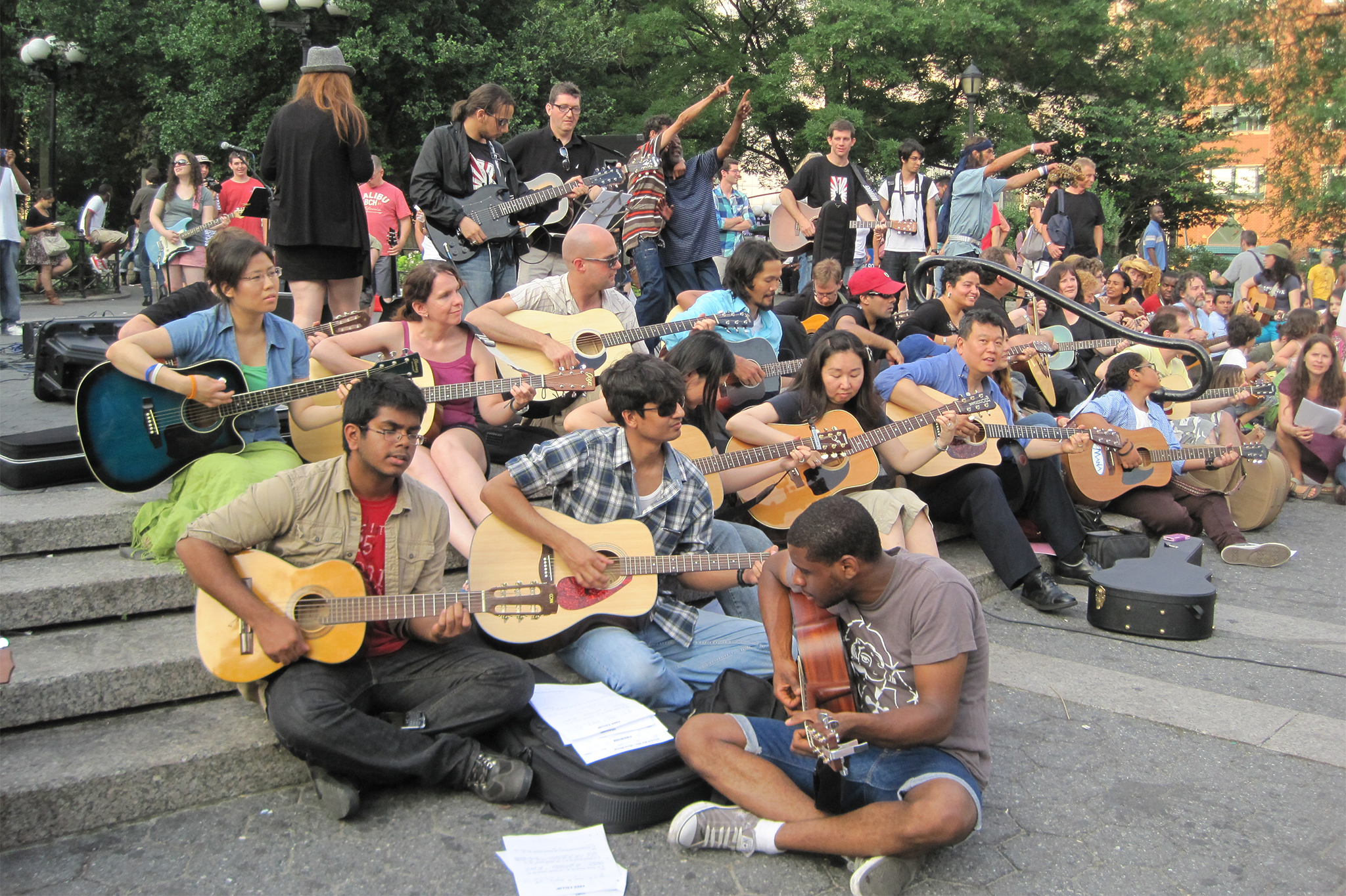 Hear the streets come alive with the sound of music during Make Music New York