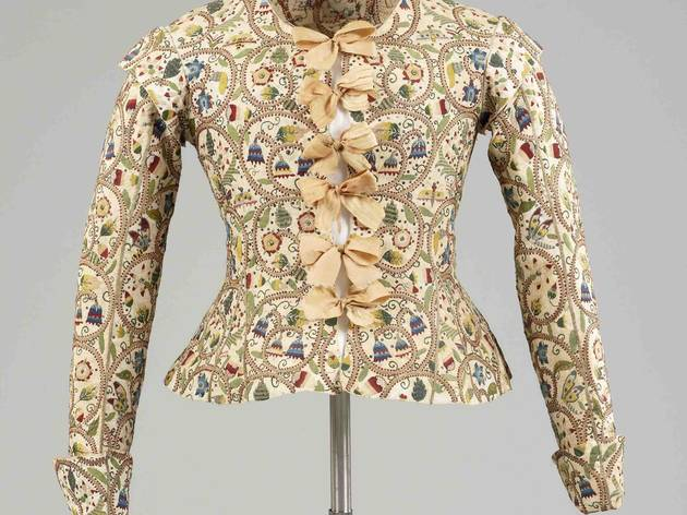 Embroidered waistcoat (c1610-20, courtesy Fashion Museum, Bath and North East Somerset Council)
