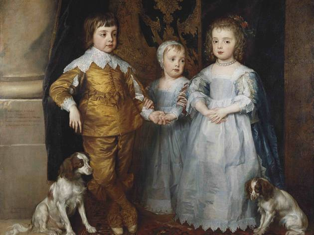 'The Children of Charles I' (c1610-20, by Sir Anthony van Dyck)