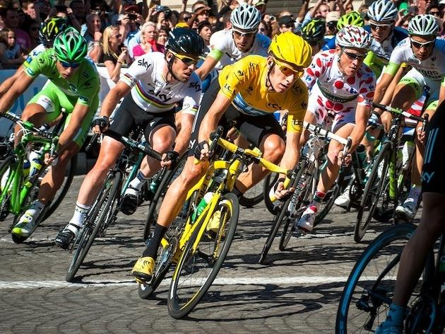 Join the crowds for the final leg of the Tour de France