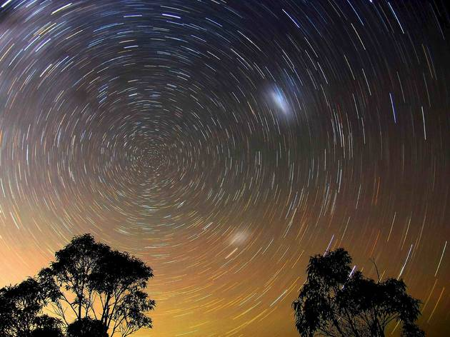 Star Trails, Blue Mountains (© Ted Dobosz, 2009 )