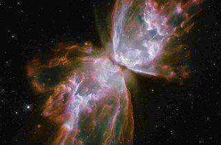 The Butterfly Nebula  (© NASA/ESA and the Hubble SM4 ERO Team)