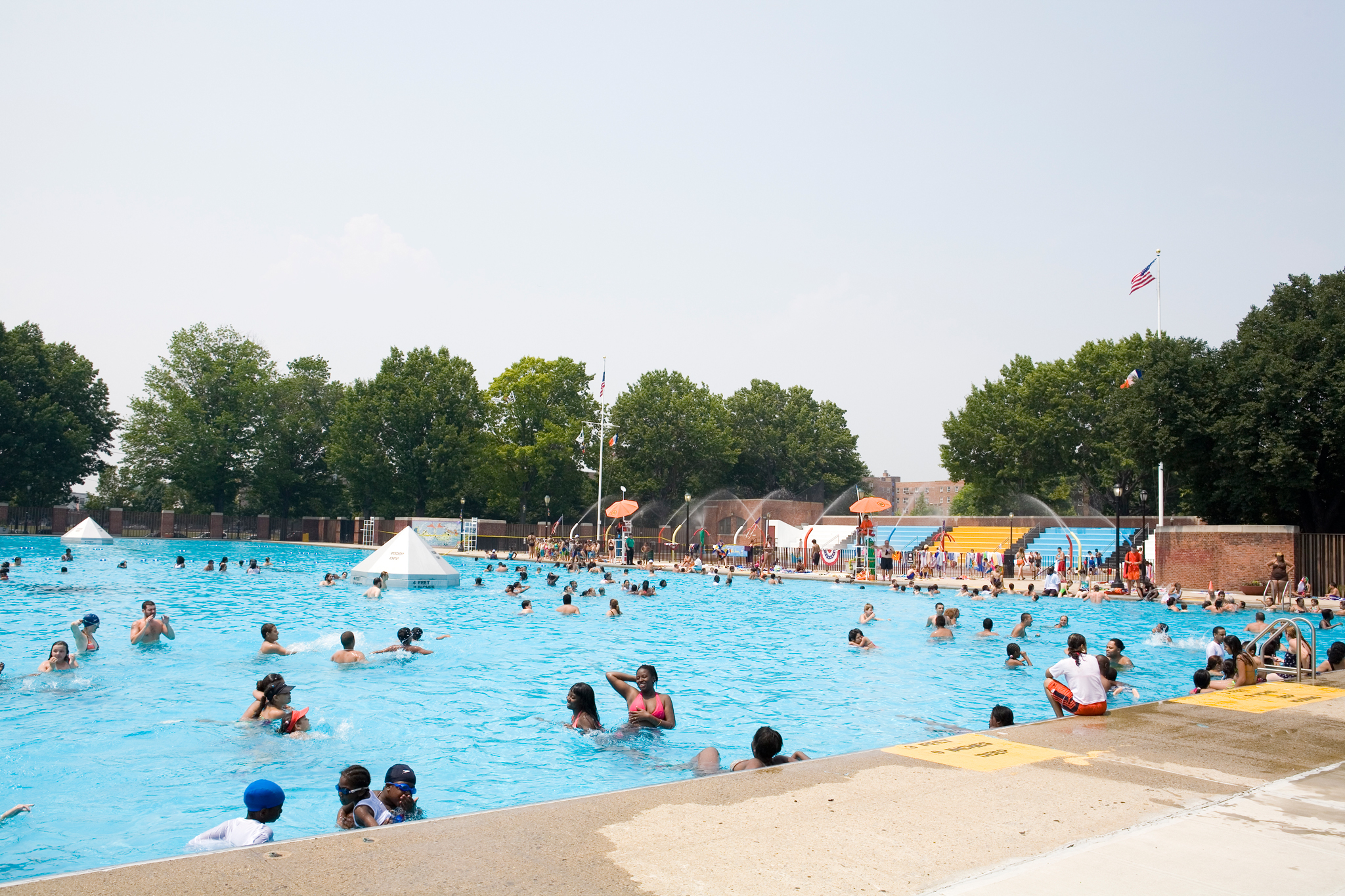 12 of the best public pools nyc has for swimming in summer - Sportspark swimming pool new york ny ...