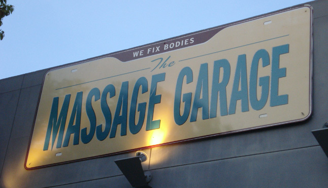 The Massage Garage