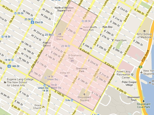 Gramercy And Flatiron Restaurants Bars Maps Time Out