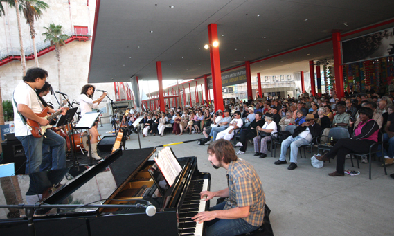 Listen to free jazz at LACMA