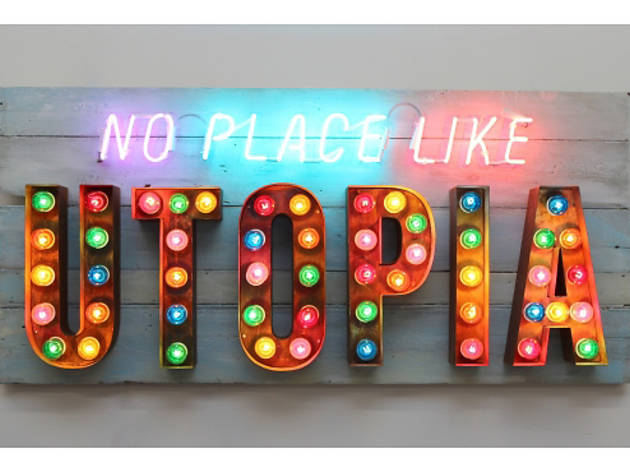 'No Place Like Utopia' (by Chris Bracey)