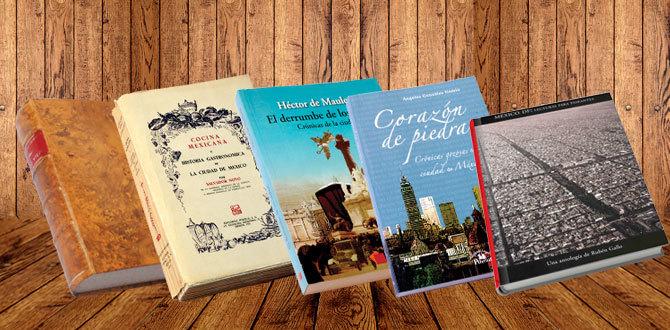 5 libros para amar a la CDMX