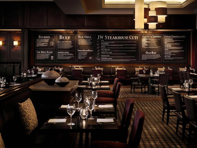 Three courses and drinks at JW Steakhouse