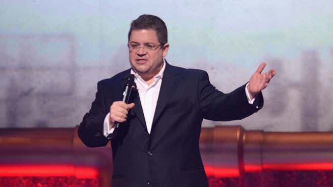 A Conversation With Patton Oswalt