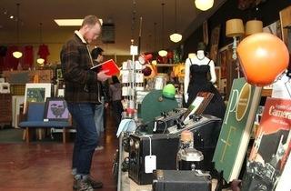 Retro Ramble Sidewalk Sale and Car Show