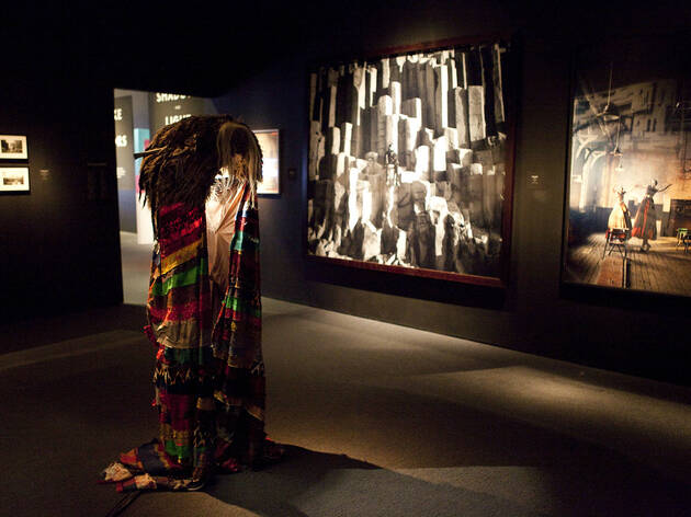 """""""Spectacle: The Music Video"""" exhibit at the Museum of the Moving Image"""