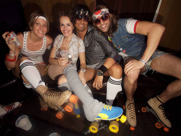 The hangout: Roller rink