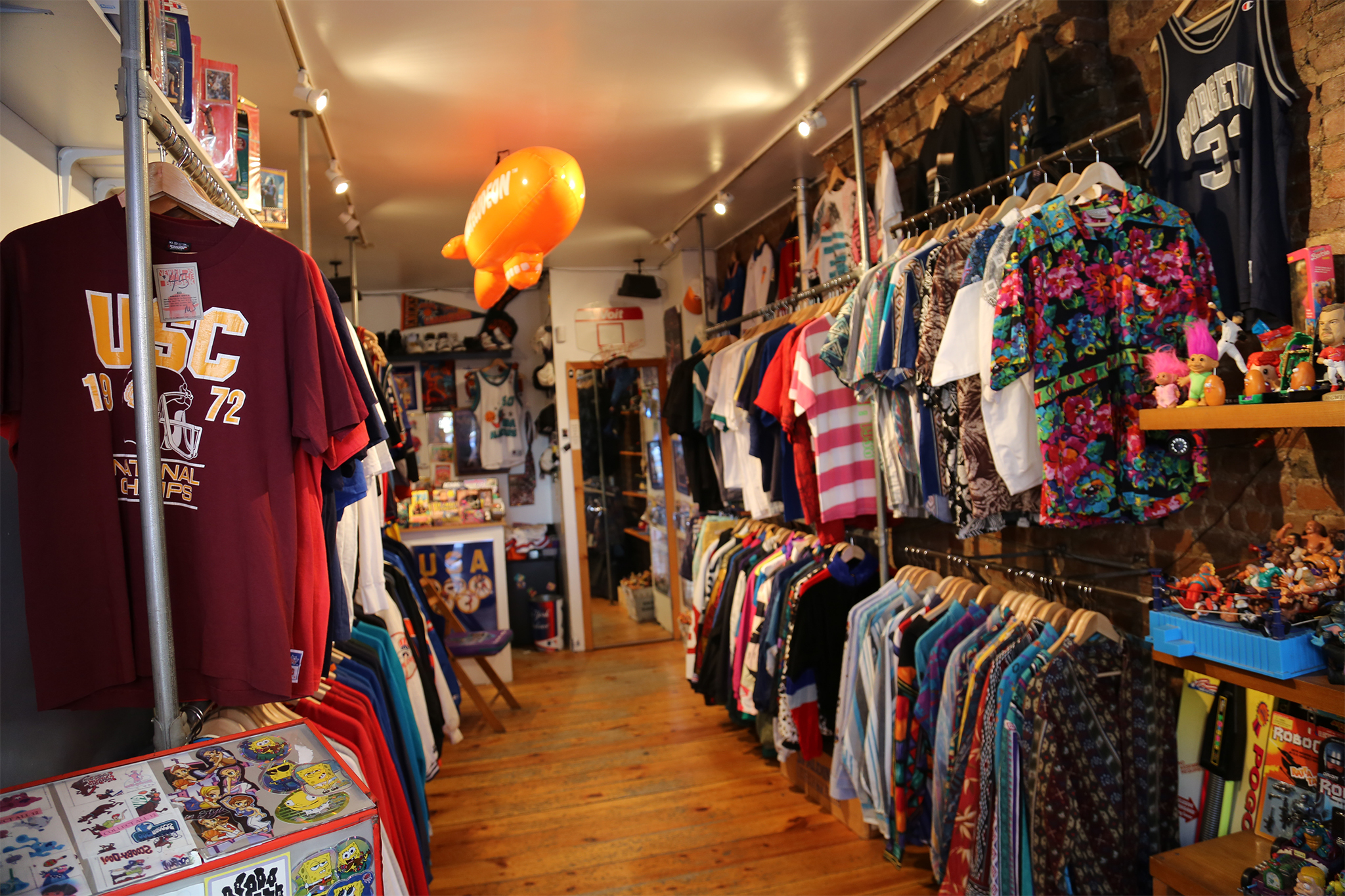 Vintage stores and thrift shops