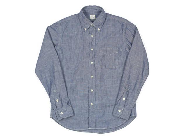 Orslow chambray shirt, $245, at Inventory