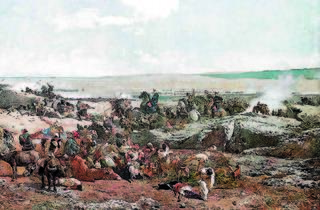 Què fa un pintor enmig d'una batalla?