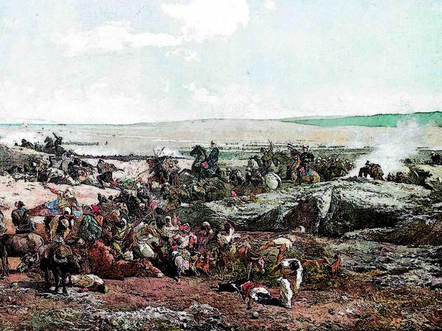 'La batalla de Tetuan' de Fortuny. De la trinxera al museu