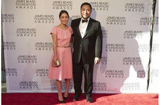 David Chang at the James Beard Foundation Awards
