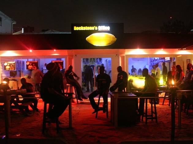 Hiplife nightlife at Rockstone's Office