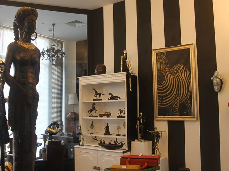 Find a bit of fabulous at Joe's Perspective Art Boutique