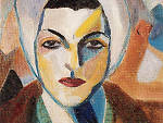 Saloua Raouda Choucair, 'Self-Portrait', 1943