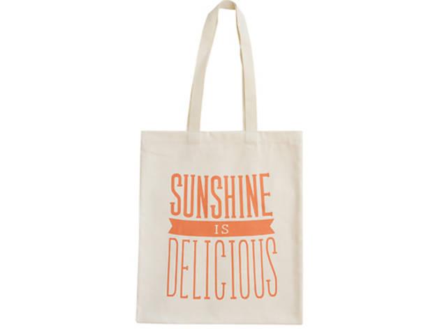 3. Sunshine tote