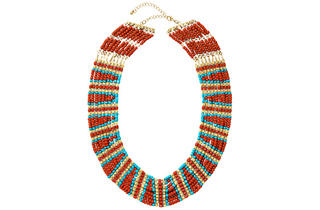 4. Beaded necklace