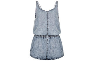 10. MOTO Acid Denim Playsuit